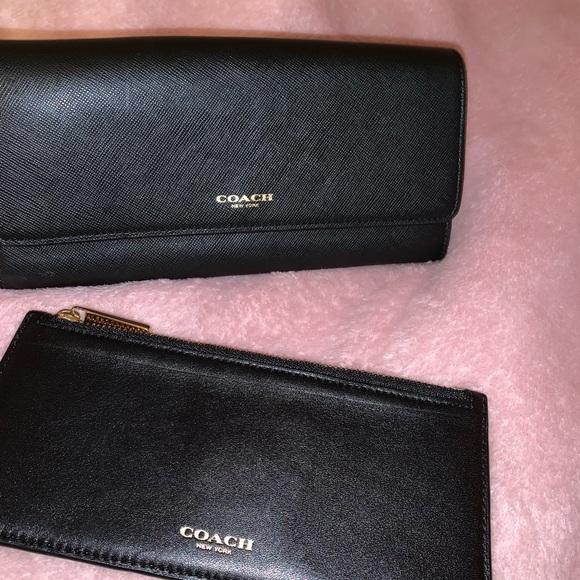 Coach Handbags - COACH wallet and coin pouch SET